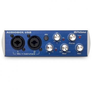 Custom Presonus - AudioBox USB 2x2 Audio Interface - Includes Studio One