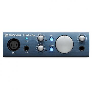 Custom Presonus - AudioBox iOne 2x2 USB/iPad Recording System