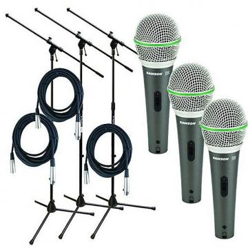 Custom Samson - Q6 Live Stage Microphone Starter Package