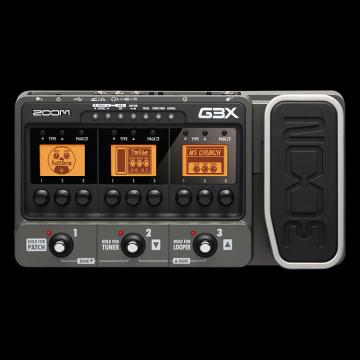 Custom Zoom G3X - Guitar Effects and Amplifier Simulator with Expression Pedal - Repack with 6 Month Alto Music Warranty!