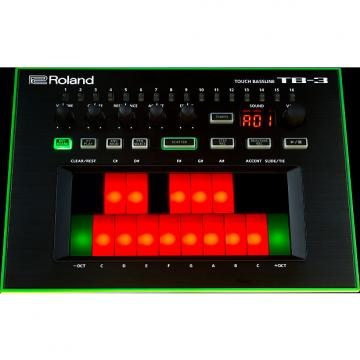 Custom Roland AIRA TB-3 touch bassline synthesizer (Factory Refurb/Full Warranty)