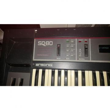 Custom Ensoniq SQ-80 CrossWave Synthesizer with RAM cart! analog/digital hybrid synth