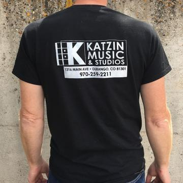 Custom Katzin Music Mens Medium T-Shirt Black
