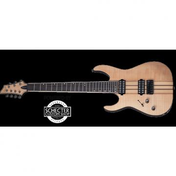 Custom Schecter Banshee Elite-7 Left-Handed Electric Guitar Gloss Natural