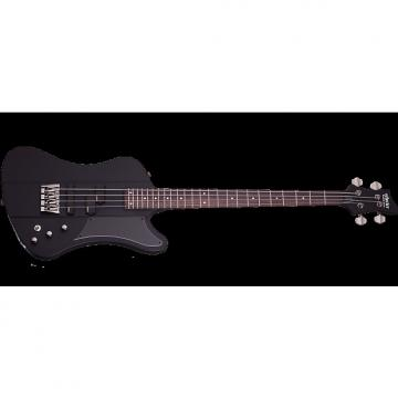 Custom Schecter Sixx Electric Bass in Satin Black Finish