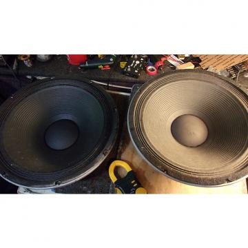 "Custom Peavey Black Widow 1502DT 15"" Speakers a Pair 4 Ohms 350 Watts For Bass/Pa Sub"