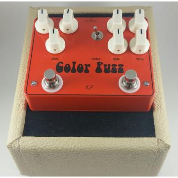 Custom kirshman pedals Color Fuzz (Colorsound Overdriver & Germanium Fuzz Face Clones)