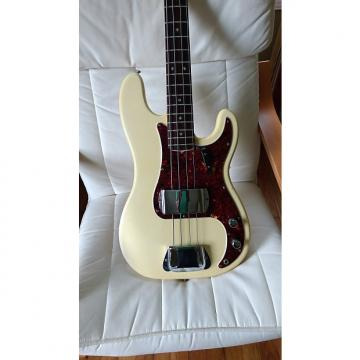 Custom 1966 Fender Precision Bass  Olympic White