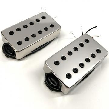 Custom Bare Knuckle Warpig Calibrated Pickup Set 50mm Short Black Bolts Nickel Cover