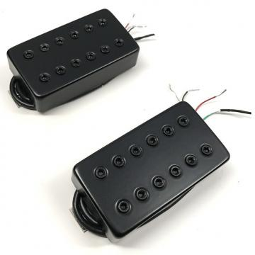Custom Bare Knuckle Warpig Calibrated Covered Pickup Set 50mm Short Black Bolts Cover