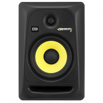 Custom KRK RP6G3NA Rokit G3 6in Powered Studio Mnitr Pack