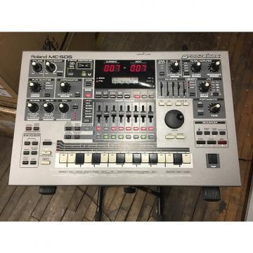 Custom Roland MC-505 GROOVEBOX music production workstation Silver