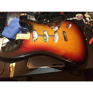 Custom Fender John Mayer Stratocaster Body 2008 3 Tone Sunburst