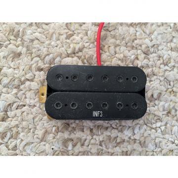 Custom Ibanez Dimarzio INF3 Humbucker Neck Guitar Pickup PU-7552 2000's Black 12.55K Resistance