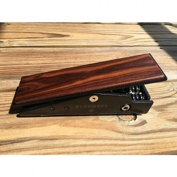 Custom Tapestry Audio Bloomery Active Volume Pedal Black - Custom wood top
