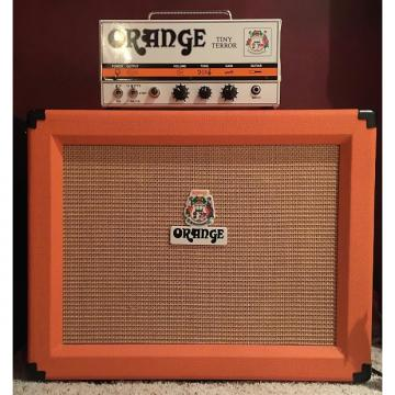 Custom Orange Tiny Terror TT15 and PPC 112 Cabinet 2010 Orange/Black