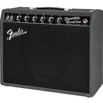 Custom Fender Limited Edition 68 Custom Princeton Reverb Black and Blue 2017