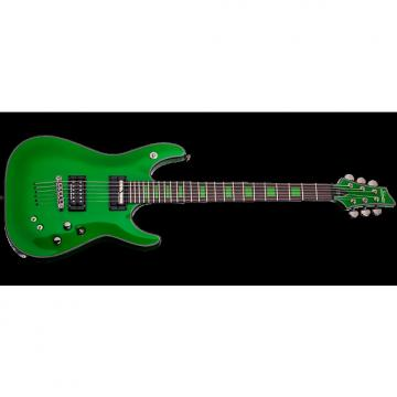 Custom Schecter Signature Kenny Hickey Electric Guitar in Steele Green Finish