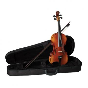 Custom Becker 1000SC Symphony Series 4/4 Size Violin Outfit - Gold-Brown Satin Finish