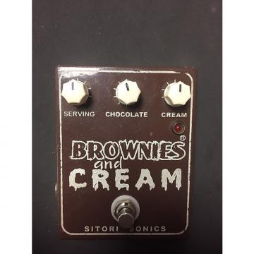 Custom Sitori Sonics Brownies and Cream Distortion/Overdrive