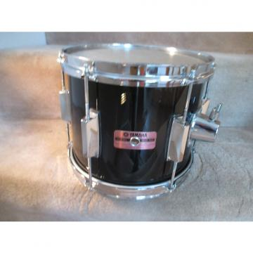 Custom Yamaha Vintage 10 x 8 Tom, Birch Shell, Gloss Black, Japan Made 1980s Excellent!