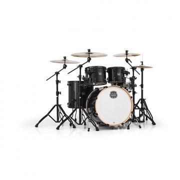 Custom Mapex Armory Series 5-Piece Jazz/Rock Shell Pack Trans Black, AR529SBTB