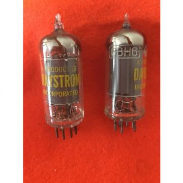Custom Daytron 6BH6 vacuum tube  matched pair