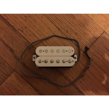 Custom Manlius Asphalt Humbucker Bridge Pickup, White