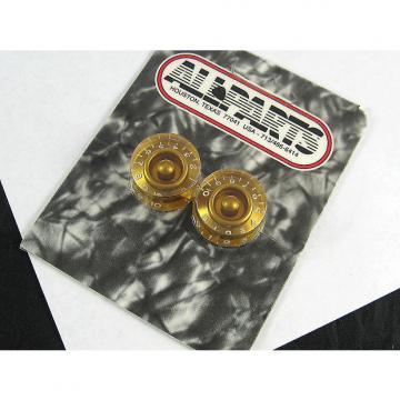 Custom Allparts Speed Knobs Gold (2) PK 0130-032