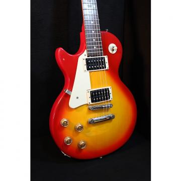 Custom Epiphone Les Paul 100 (Left-Handed) Orange Sunburst
