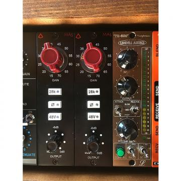 Custom Avedis Audio Electronics MA5 Black w/ Red Knobs