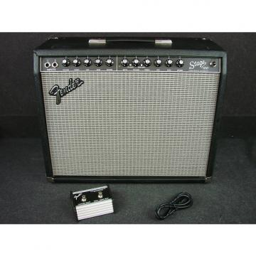 "Custom Fender Stage 100 1 x 12"" 100-Watt Solid State Combo Amplifier W/Foot Switch"