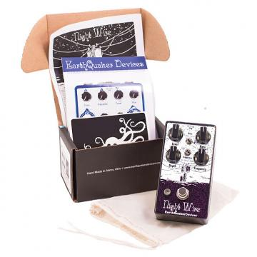Custom Earthquaker Devices Night Wire Wide Range Harmonic Tremolo Pedal