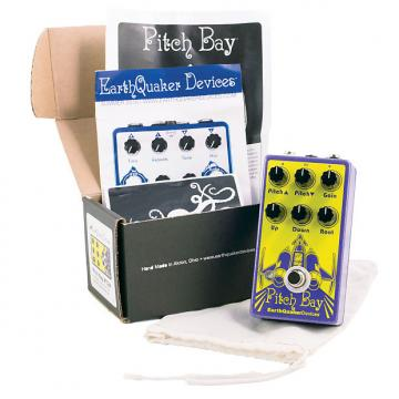 Custom Earthquaker Devices Pitch Bay Dirty Polyphonic Harmonizer Pedal