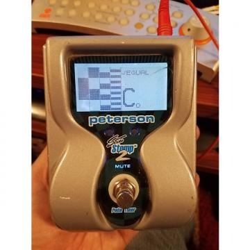 Custom Peterson VS-S2 StroboStomp 2 Strobe Pedal Tuner