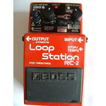 Custom Boss LOOP STATION RC-2