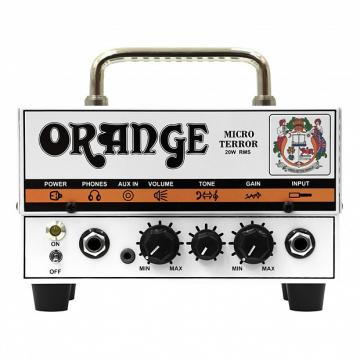 Custom Orange Micro Terrror 20W Mini Hybrid Guitar Head