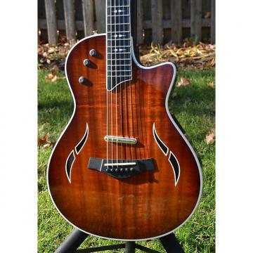 Custom Taylor T5z Custom Koa Shaded Edgeburst - MINT with hard shell case