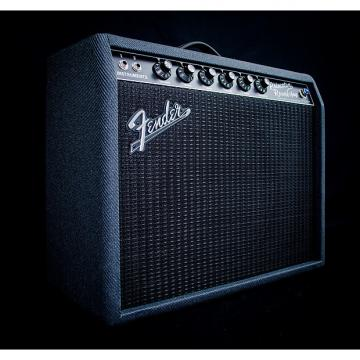 Custom Fender Limited Edition Black and Blue '68 Custom Princeton Reverb Combo Amp