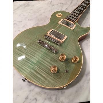 Custom Gibson Les Paul Classic 2015 Seafoam Green w/ OEM Fatboy Premium Comfort Strap & QC BurstBucker Pros
