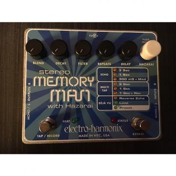 Custom Electro-Harmonix Stereo Memory Man with Hazarai