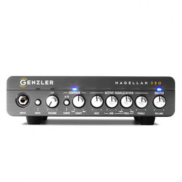 Custom Genzler Amplification Magellen 350 head - 350 watts in 3.5 pounds - New Model!
