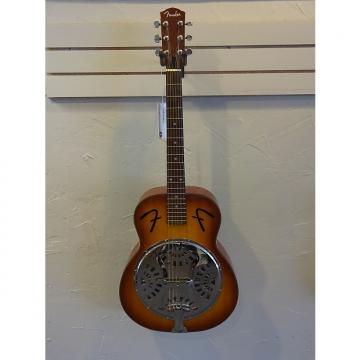 Custom Fender FR50 Resonator Acoustic  2002 Tobacco Burst