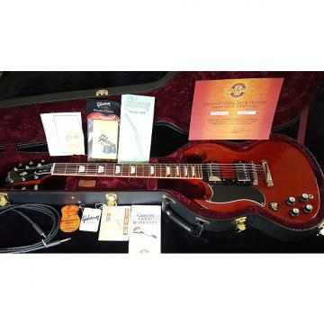 Custom Left Handed, Lefty 2005 Gibson Les Paul SG Standard Authentic, 1961 Specs, Custom Shop Special Order