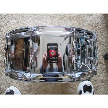Custom RARE! 1970'S PREMIER OLYMPIC 10 LUG 1025 SNARE DRUM WITH ORIGINAL SLOTTED KEY !!!