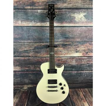 Custom Ibanez Artist White with padded gig bag