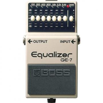 Custom Boss GE-7 7-Band Graphic Equalizer