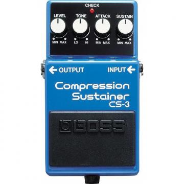 Custom BOSS CS-3 Compression Sustainer Pedal