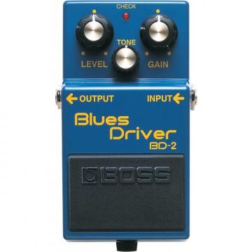 Custom BOSS BD-2 Blues Driver Pedal