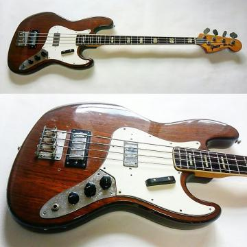 Custom Greco Jb420  Circa 1973 Brown Stain Gloss Lacquer